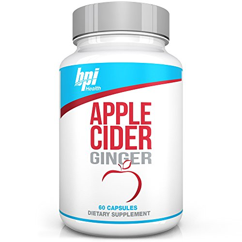 BPI Health Apple Cider Ginger - Promotes Weight Loss, Detox, Digestion, Cleansing - Weight Loss Pills
