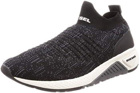 Diesel Mens SKB S kb ATHL Sock Black Size: 7.5: