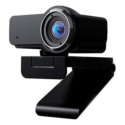 chollos oferta descuentos barato  gestionado por Amazon cámara Web 1080P HD cámara Web incorporada micrófono cámara con Clip Web para computadora PC portátiles Skype Vedieo Call Record Webcam Web 1
