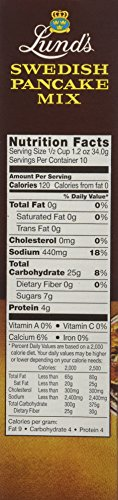 Lund's Swedish Pancake Mix, 12-Ounce Boxes (Pack of 12) by Lunds (Image #6)