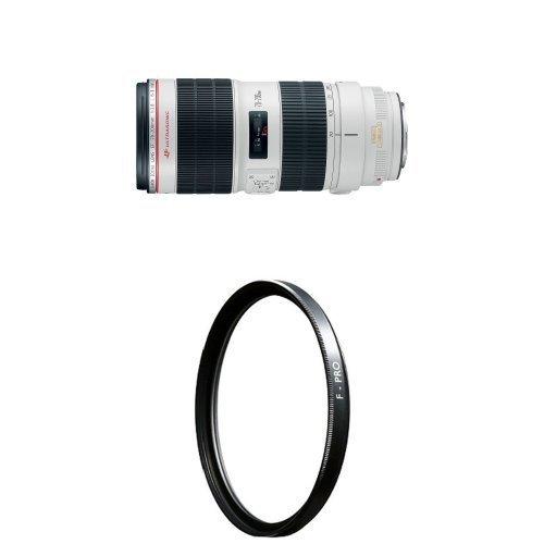 Canon EF 70-200mm f/2.8L IS II USM Telephoto Zoom Lens with B+W 77mm Clear UV Haze [並行輸入品]   B07FVWNJWF