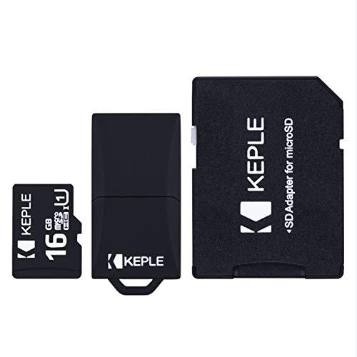 Lite Microsd (16GB microSD Memory Card by Keple | Micro SD Class 10 for Samsung Galaxy Tab S2 8.0, E SM-T560, S2 SM-T813, A SM-T580, 3 Lite SM-T110, Linx, Tab 4 (7, 8, 10.1 inches) Tablet PC | 16 GB)