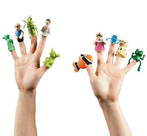 Finger Puppet Assortment (50 Pack) - Finger Puppet Assortment