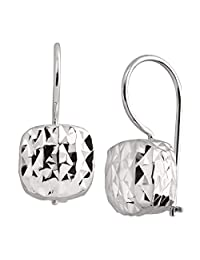 Silpada'sterling Silver Rounded Cube Drop Earrings