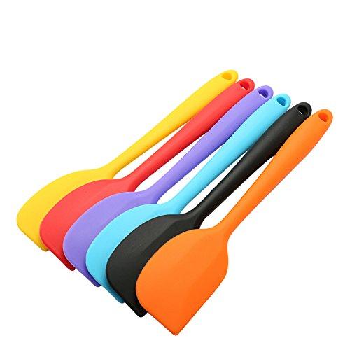 Silicone Spatula Baking Rubber Scraper integrated high temperature resistance