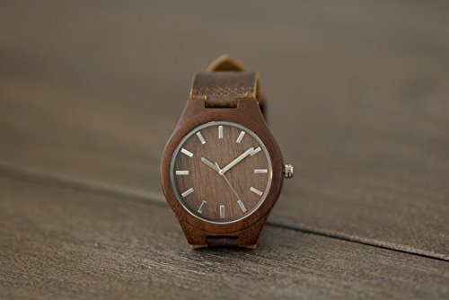 Personalized Watch - Engraved Watch - - Sunglasses Ban Wooden Ray Style