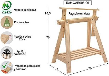 ASTIGARRAGA KIT LINE Caballete Pino Archi Tec: Amazon.es ...