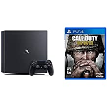 PlayStation 4 Pro 1 TB Console + Call of Duty: WWII - PlayStation 4 Standard Edition