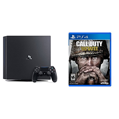 Consola PlayStation 4 Pro 1 TB + Call of Duty: WWII - Edición estándar PlayStation 4