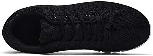 JFHGNJ Casual Schoenen Mannen Comfortabele Mannen Sneakers Lichtgewicht Platte Schoenen Paar Sneakers Mannen Ademende Mesh Schoeisel-rood_45 oAJdZC1Z