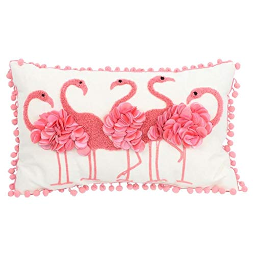 DEI Flamingo Pillow, 10