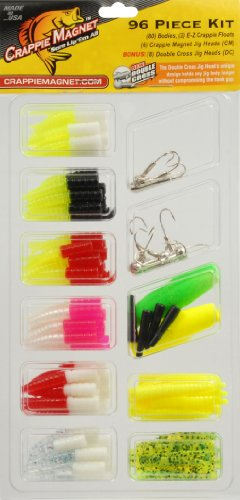 Trout Magnet Lures (Trout Crappie Magnet Kit (96-Piece))