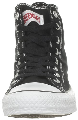 Converse Ct Green Day Hi 286590-61-8 - Zapatillas de tela para hombre Negro (Schwarz (Noir/Rouge))