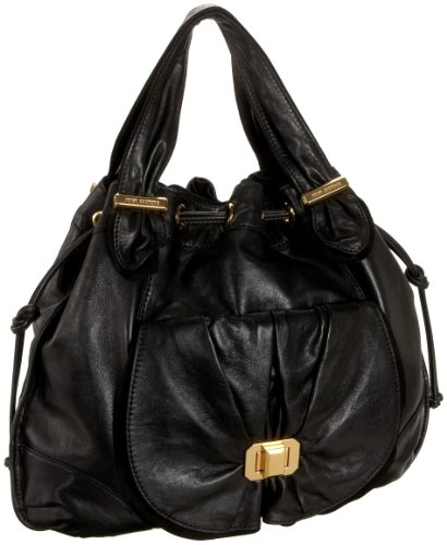 Juicy Couture Collection Riviera Large Hobo,Black,one size