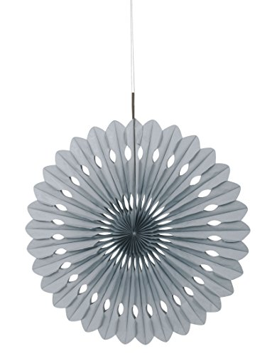 Silver Tissue Paper Fan Decoration product image