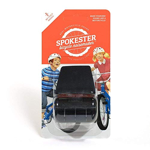 SPOKESTER Bicycle Noise Maker (Black)