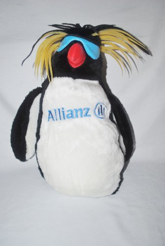 allianz-insurance-macaroni-penguin-advertising-plush