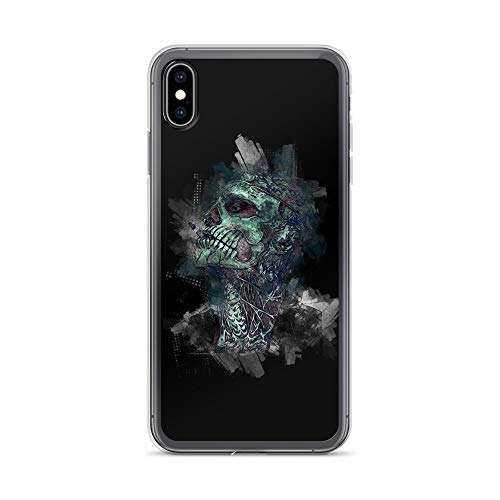 iPhone Xs Max Case Anti-Scratch Phantasy Imagination Transparent Cases Cover Skull Poison Fantasy Dream Crystal Clear