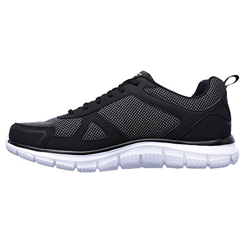 Track Bucolo Bkwh Black Low Skechers Shoes Men's Top 5Fq1n46