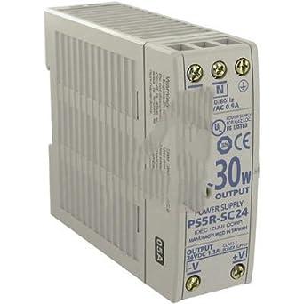 Idec PS5R-SC12 AC-DC Conv, Din Rail, 1 O/P, 30W, 2.5A, 12V