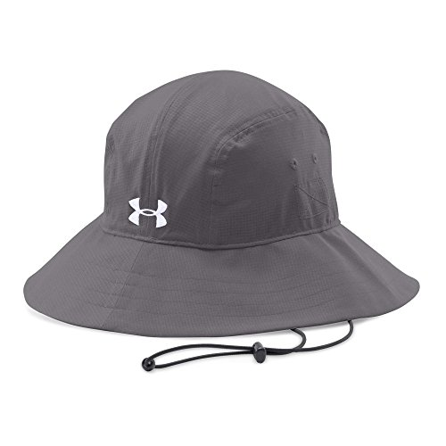 Under Armour Men's Warrior Bucket Hat, Graphite (040)/White, One Size