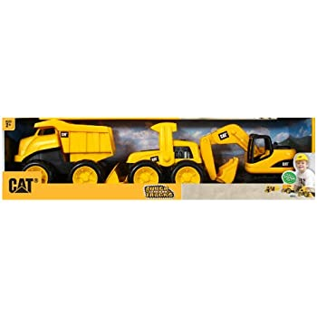 Toy State Caterpillar Tough Tracks, 3-Pack