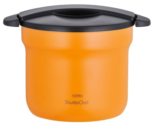 Thermos Vacuum Insulation Cooker Shuttle Chef 4.3l Apricot Kbf-4500 by Thermos