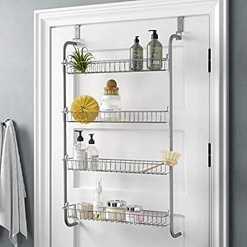 Direct Online Houseware 4 Tier Over Door Hanging Rack With Shelves For Pantry Or Storage Cupboard Amazon Co Uk Diy Tools