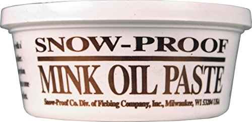 (DPD SNOW PROOF MINK OIL PASTE - 8 OZ)