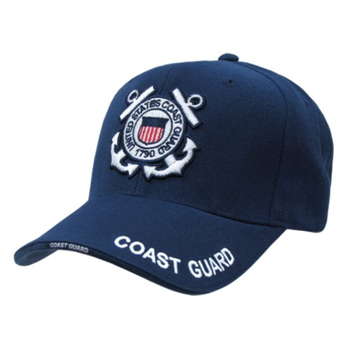 Rapid Dominance US Coast Guard Baseball Ball Cap Hat(Blue, One Size)