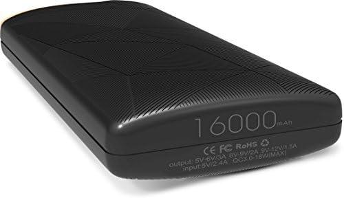 Elephone España] 16000mAh Batería Externa Cargador Portátil Power ...
