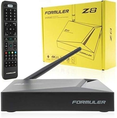 FORMULER Z8 Android Dual Band 5G Gigabit LAN 2GB RAM 16GB ROM 4K Smart Learning Remote with IR