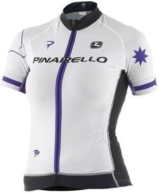 Giordana 2014 Women 's Pinarello Stars FRC Trade半袖サイクリングジャージー – gi-s4-wsfr-pina Pinarello STARS 紫の/白い/黒 Large