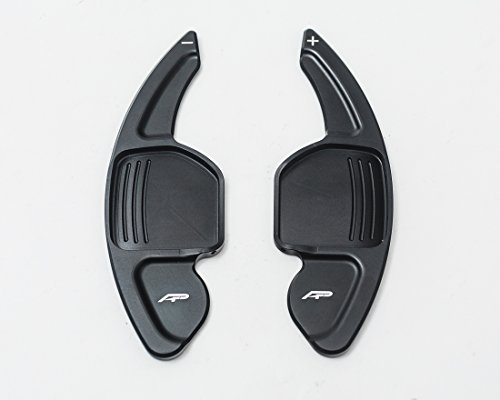 Agency Power Paddle Shifter Extensions Black Audi All Models