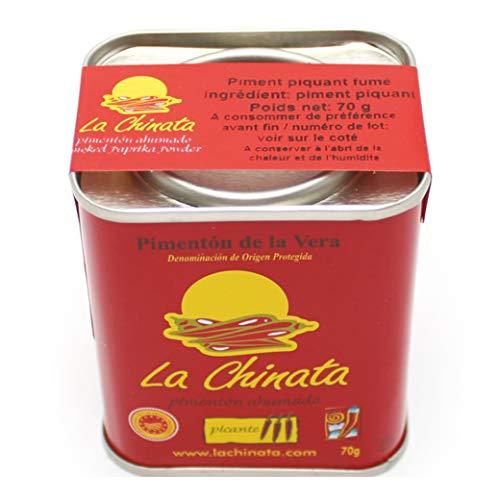 La Chinata – Pimentón de la Vera – Pimentón Ahumado Dulce – 70 g