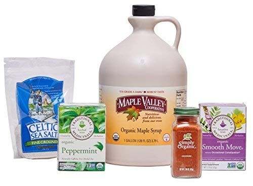 (Maple Valley Organic Master Cleanse Lemonade Detox/Kit 16 Day Kit Without Book)