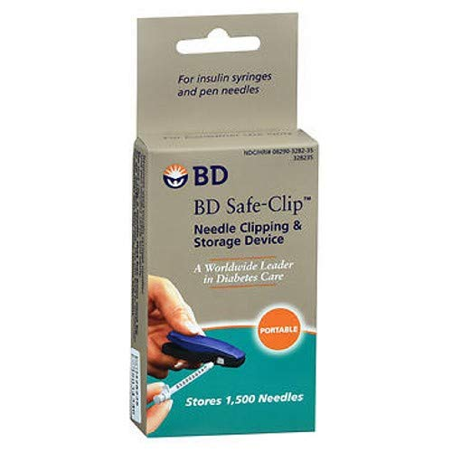 BD Safe-Clip Needle Clipping and Storage Device, Pack of 6 by BD