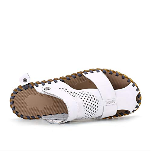 Pelle Uomo da Bianca Per Pantofole Traspiranti 24 Casual E CM pantofole Wagsiyi Scarpe 0 26 Sandali spiaggia Sandali Sandali Antiscivolo In 5 qxwp1Hn