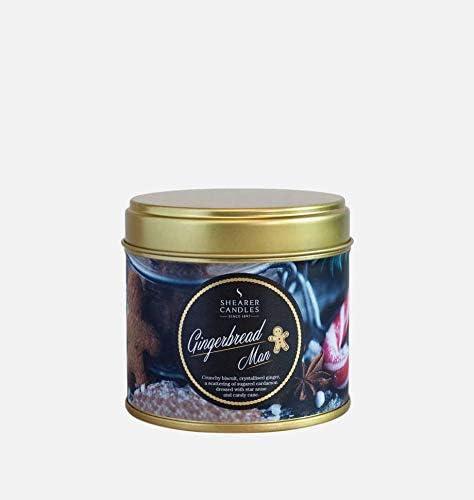 Shearer Candles - Vela perfumada en Lata (Aroma a Jengibre, Mecha ...