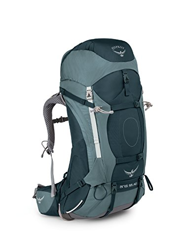 Osprey Packs Women's Ariel AG 55 Backpack, Boothbay Grey, X-Small