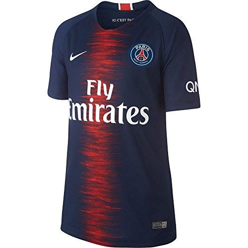 毎月遠洋の鰐2018-2019 PSG Home Nike Shirt (Kids)