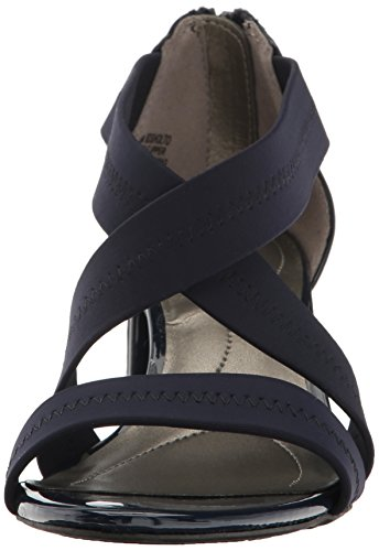 Bandolino Women's Sholto Heeled Sandal Navy buy cheap sast big discount online buy cheap wiki clearance really Kq4ILv