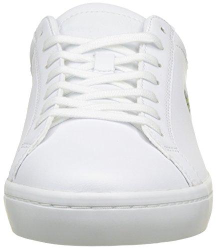 001 wht Hombre Blanco Para Cam Straightset Bl Lacoste Zapatillas 1 FRwBvnqT