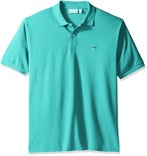 Lacoste Men's Short Sleeve Pique L.12.12 Classic Fit Polo Shirt, Past Season, Bermuda Heather, XX-Large (Lacoste Mens Pique Polo)