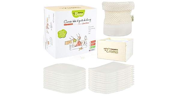 Les Tendances dEmma Kit Eco Chou - Toallitas Bebé Lavables - Materia - eucalipto: Amazon.es: Juguetes y juegos