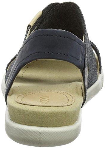 Ecco Sandalo Donna Damara Con 2 Cinturini Nero / Nero / Cipria