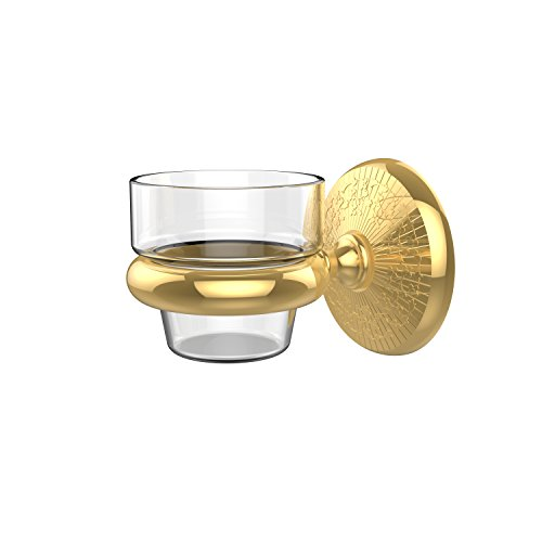 (Allied Brass MC-64-PB Monte Carlo Collection Wall Mounted Votive Candle Holder, Polished Brass )