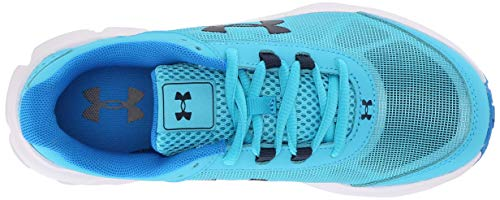 Under Armour Girls' Grade School Rave 2 Sneaker, Alpine (301)/Blue Circuit, 4 by Under Armour (Image #8)