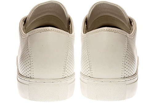 CRIME London 11281S17 - Herren Schuhe Sneaker Schnürer - 10-White, Größe:42 EU