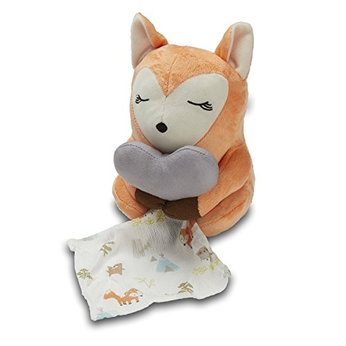 SwaddleMe Little Heartbeats Fox Soother, Red by SwaddleMe